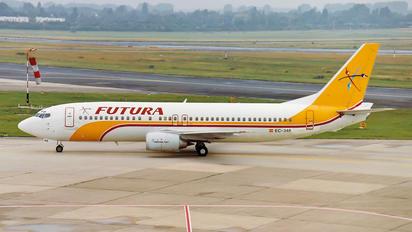 EC-348 - Futura International Airways Boeing 737-400