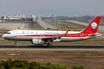 B-8329 - Sichuan Airlines  Airbus A320
