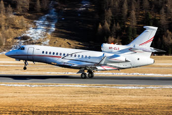 VP-CLS - Global Jet Luxembourg Dassault Falcon 7X