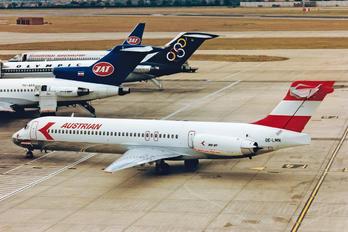 OE-LMN - Austrian Airlines/Arrows/Tyrolean McDonnell Douglas MD-87