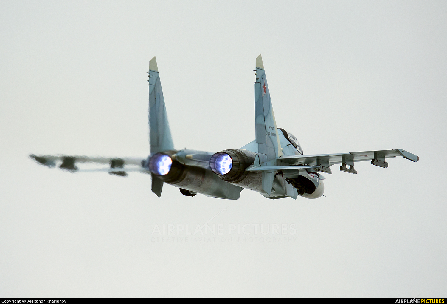 Russia - Air Force 29 aircraft at Undisclosed Location