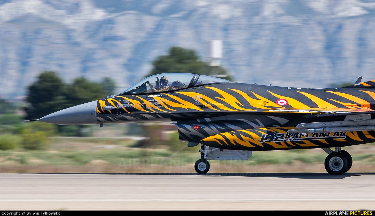 Turkey - Air Force 92-0014 aircraft at Zaragoza