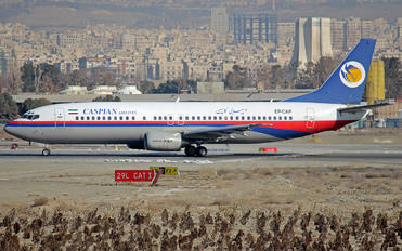 EP-CAP - Caspian Airlines Boeing 737-4H6