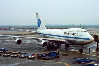 N536PA - Pan Am Boeing 747SP