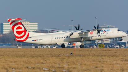 SP-EQH - euroLOT de Havilland Canada DHC-8-400Q / Bombardier Q400