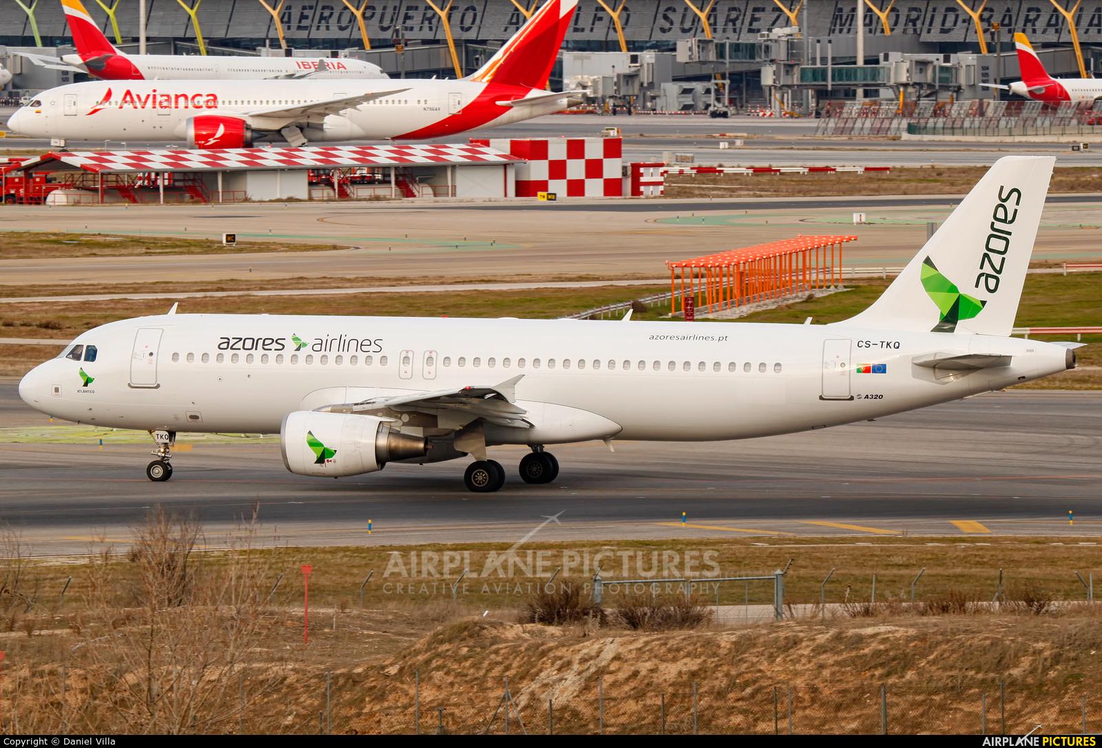 White Airways CS-TQK aircraft at Madrid - Barajas