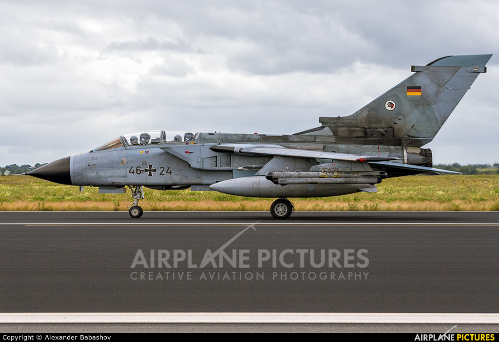 Germany - Air Force Panavia Tornado - ECR 46+24