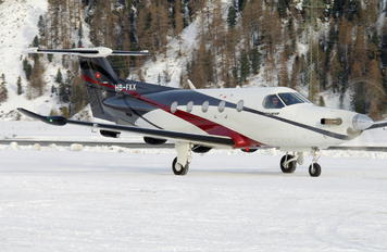 HB-FXX - FLY 7 Executive Aviation SA Pilatus PC-12