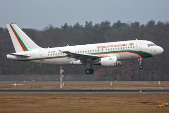 LZ-AOB - Bulgaria - Government Airbus A319