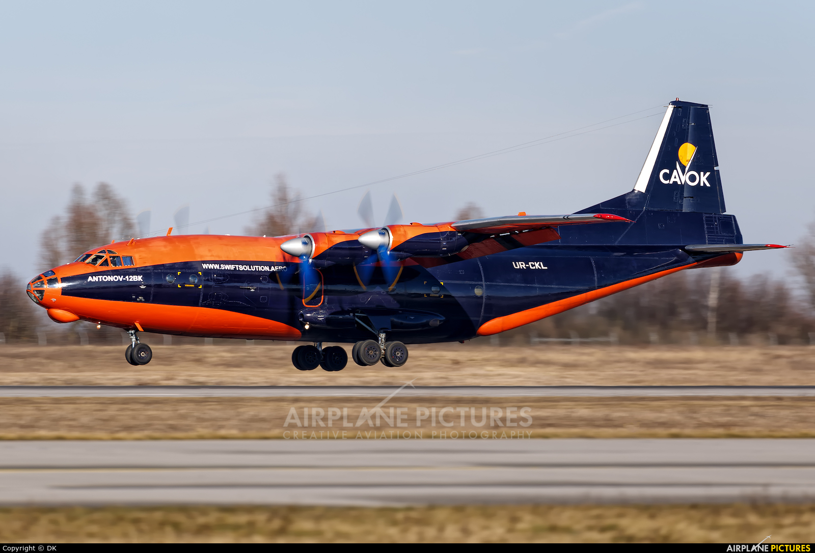 Cavok Air UR-CKL aircraft at Leipzig - Halle
