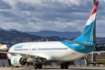 LX-LBB - Luxair Boeing 737-800