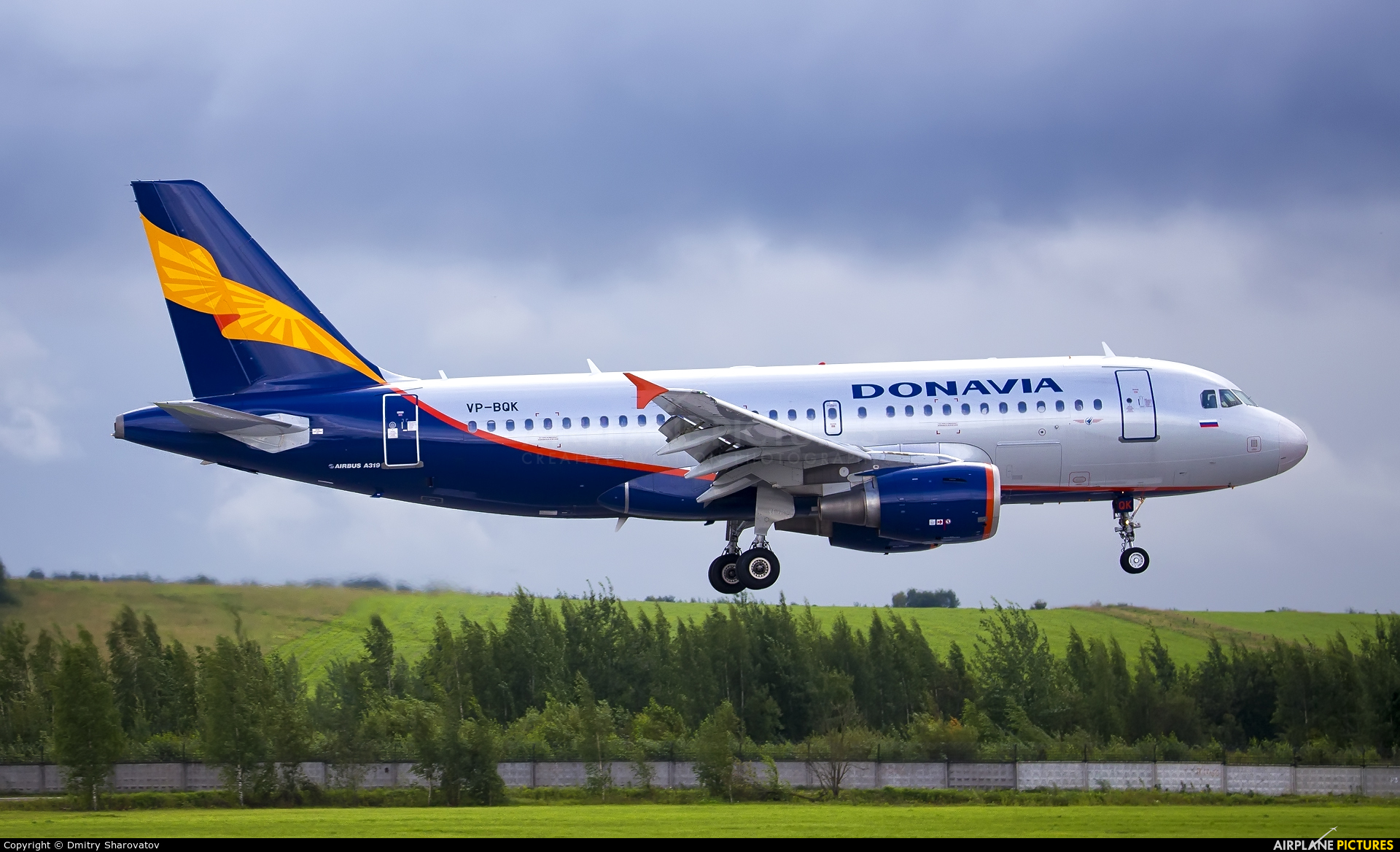 Donavia VP-BQK aircraft at St. Petersburg - Pulkovo