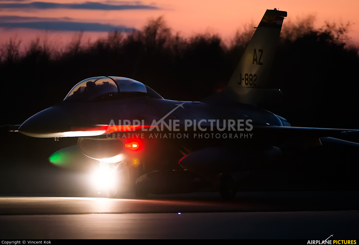 Netherlands - Air Force J-882 aircraft at Uden - Volkel