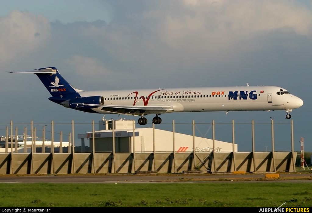 MNG Airlines TC-MNO aircraft at Amsterdam - Schiphol