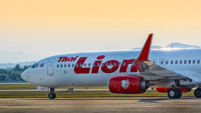 HS-LTV - Thai Lion Air Boeing 737-900ER