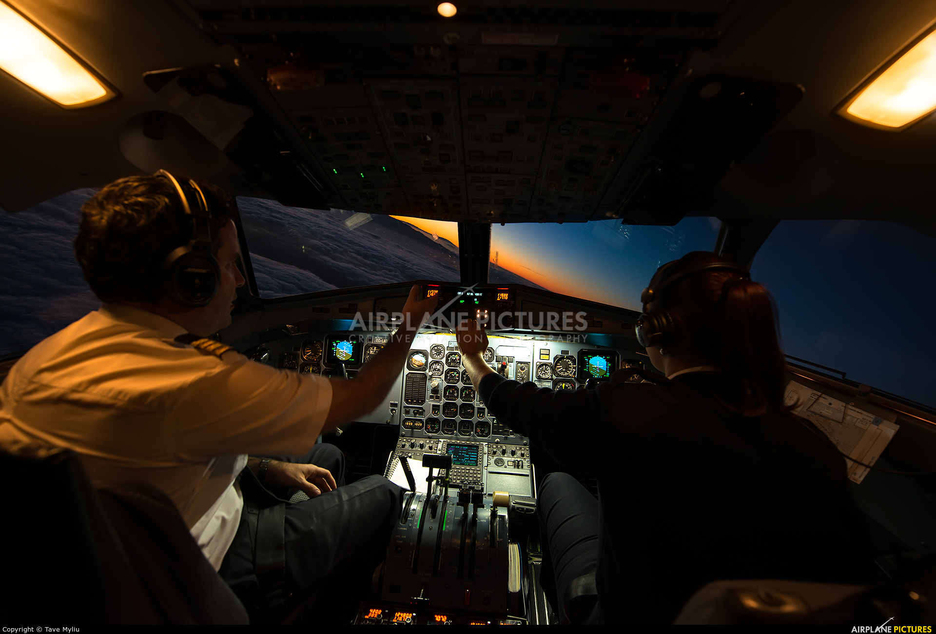 Binter Canarias EC-LAD aircraft at In Flight - Spain