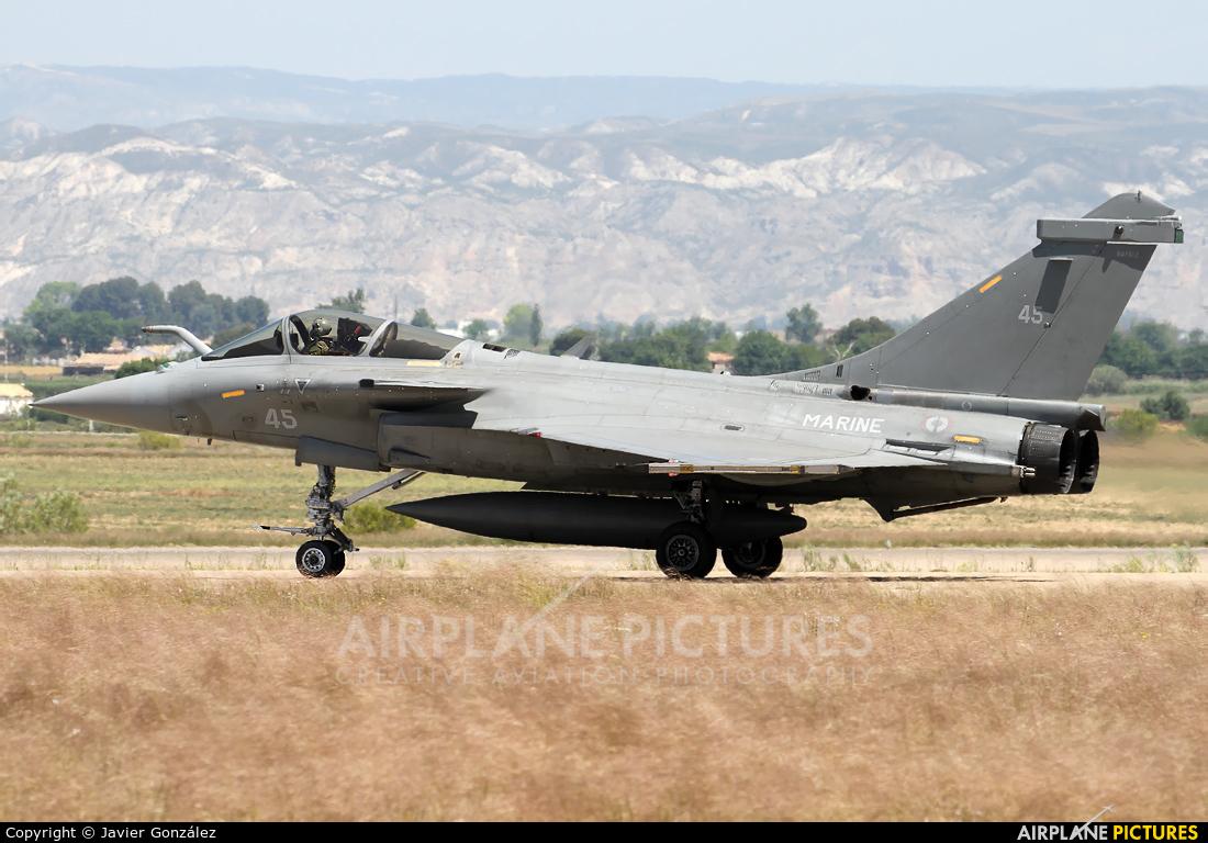 France - Navy 45 aircraft at Zaragoza