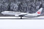 JA330J - JAL - Japan Airlines Boeing 737-800 aircraft