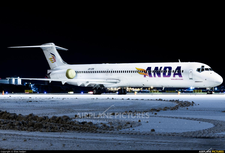 Anda Air UR-CPB aircraft at Helsinki - Vantaa