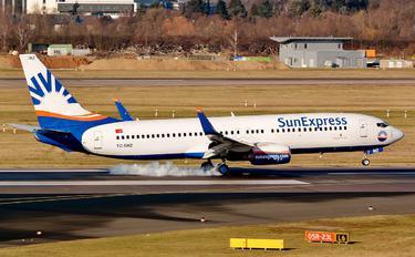 TC-SNZ - SunExpress Boeing 737-800