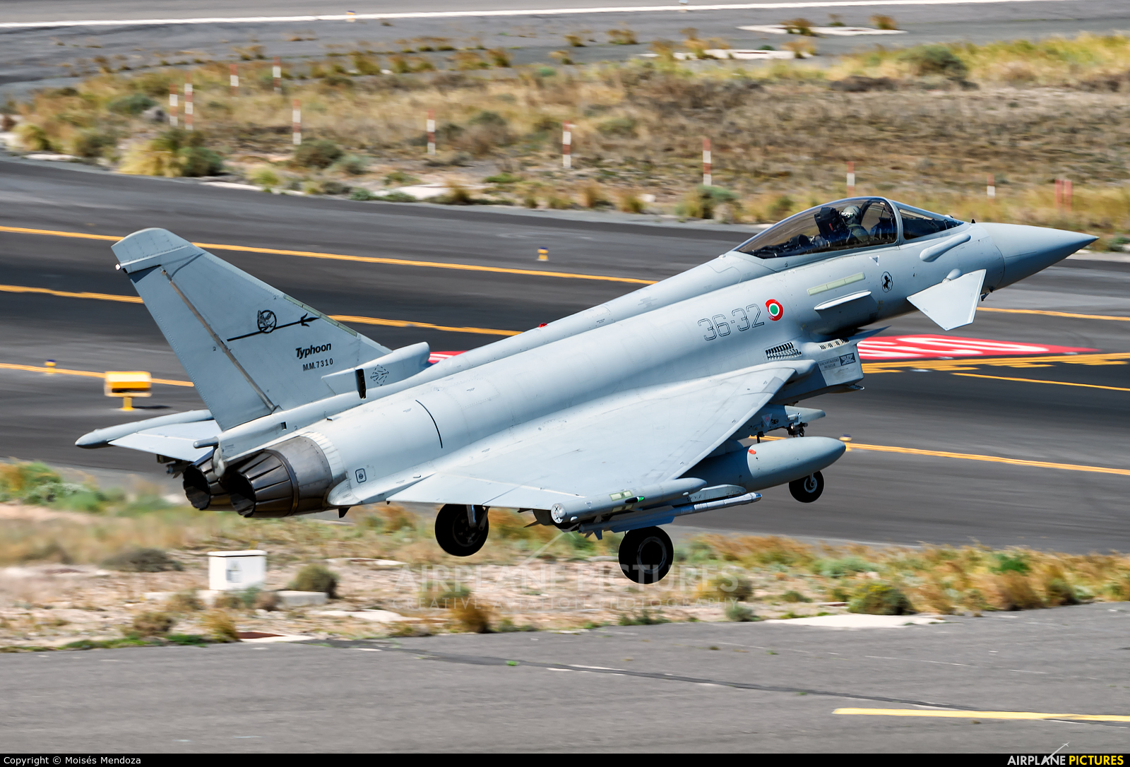 Italy - Air Force MM7310 aircraft at Aeropuerto de Gran Canaria