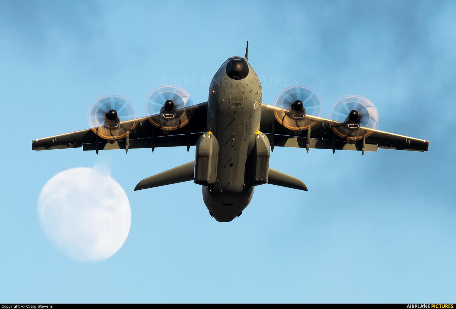 Royal Air Force ZM409 aircraft at Exeter