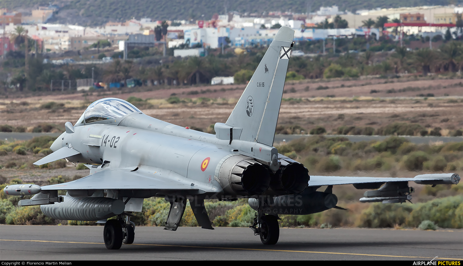 Spain - Air Force C.16-35 aircraft at Aeropuerto de Gran Canaria