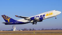 N464MC - Atlas Air Boeing 747-400 aircraft