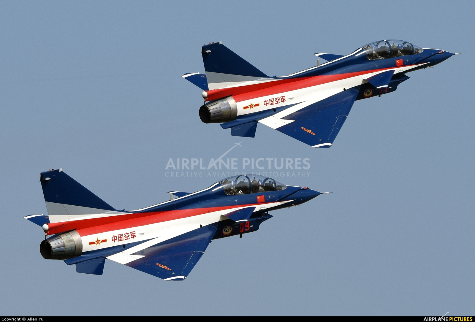 09 - China - Air Force Chengdu J-10 at Zhūhǎi-Jīnwān ...