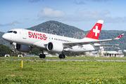 HB-JBD - Swiss Bombardier CS100 aircraft