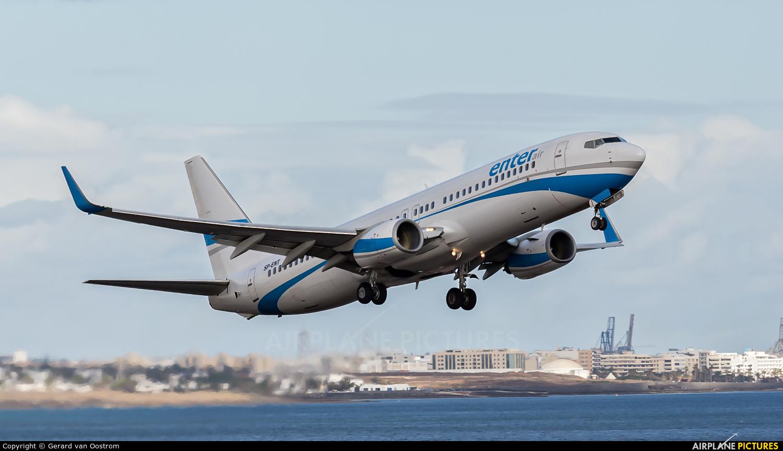Enter Air SP-ENT aircraft at Lanzarote - Arrecife