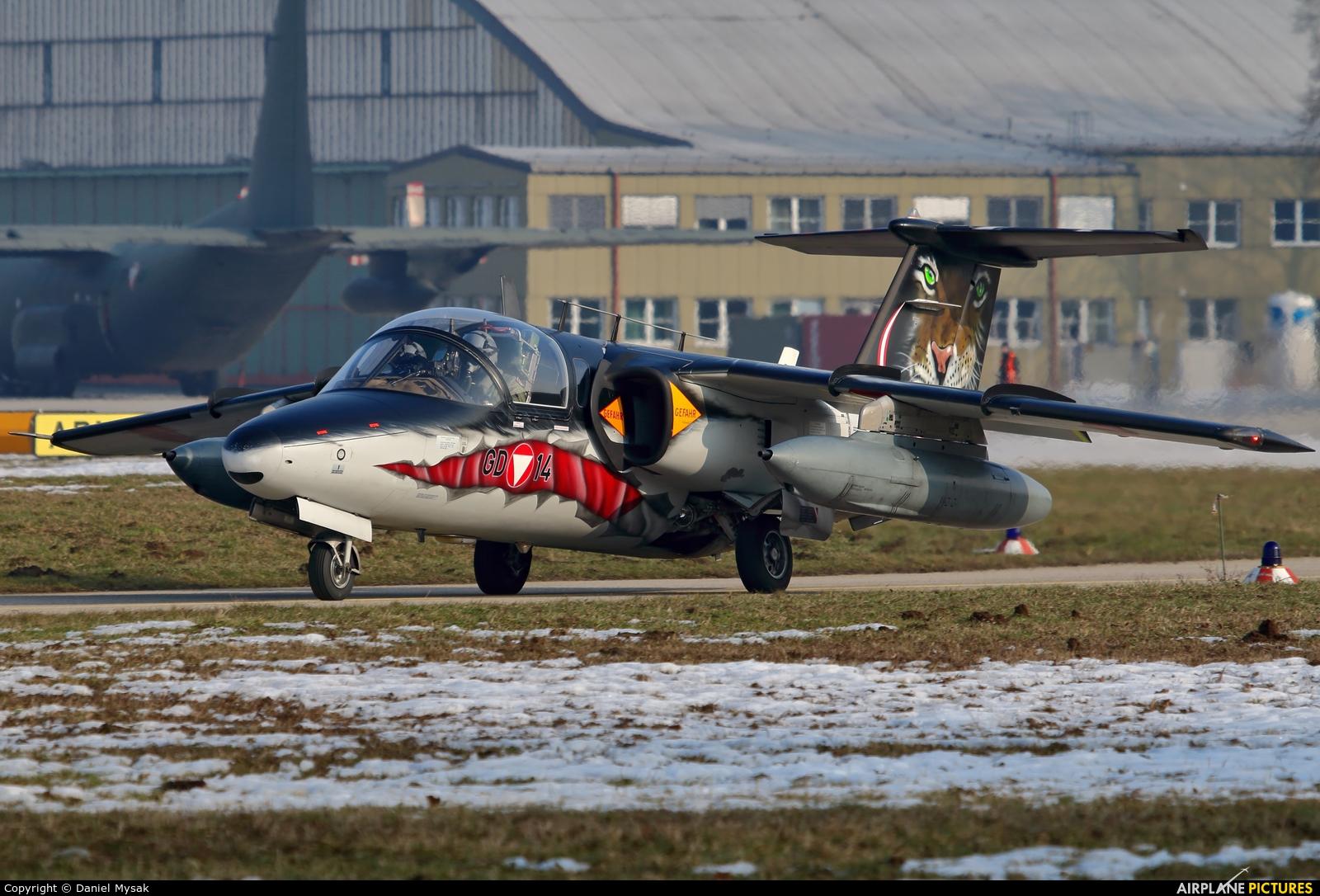 Austria - Air Force GD-14 aircraft at Linz