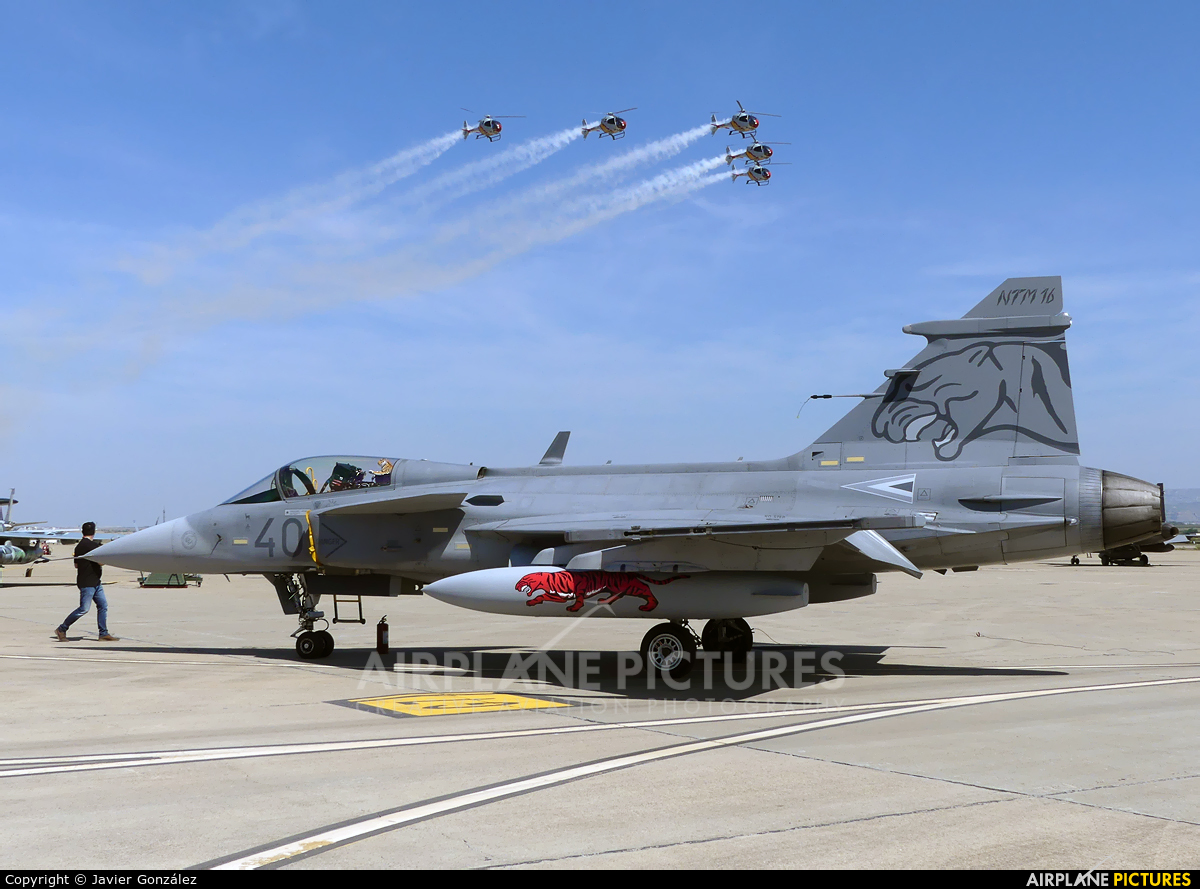 Hungary - Air Force 40 aircraft at Zaragoza