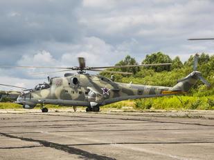 RF-34199 - Russia - Navy Mil Mi-24VP