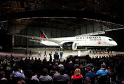 Air Canada new livery presented title=