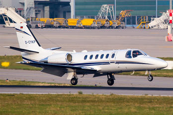 D-CYKP - Private Cessna 550 Citation II