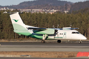 LN-WIJ - Widerøe de Havilland Canada DHC-8-100 Dash 8