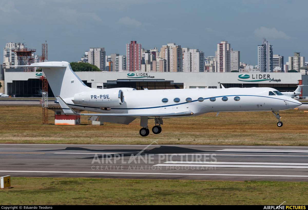 Private PR-PSE aircraft at São Paulo - Congonhas