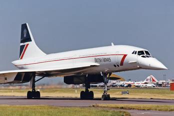 G-BOAC - British Airways Aerospatiale-BAC Concorde