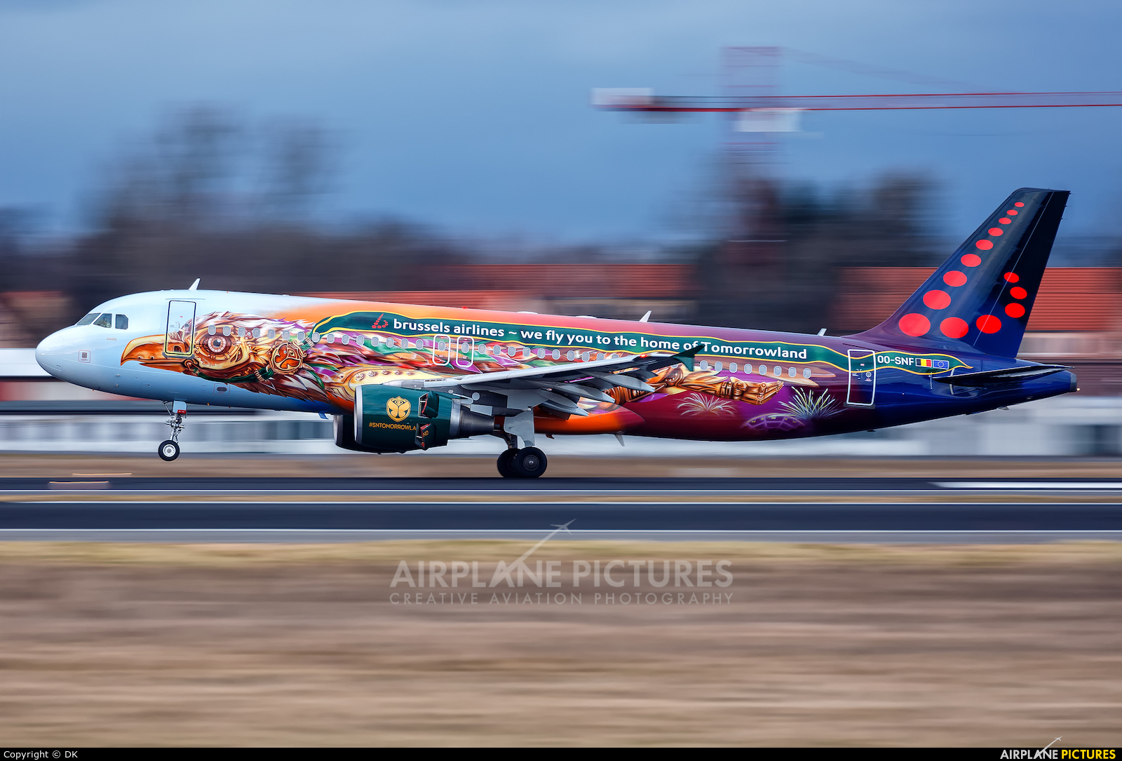 Brussels Airlines OO-SNF aircraft at Berlin - Tegel