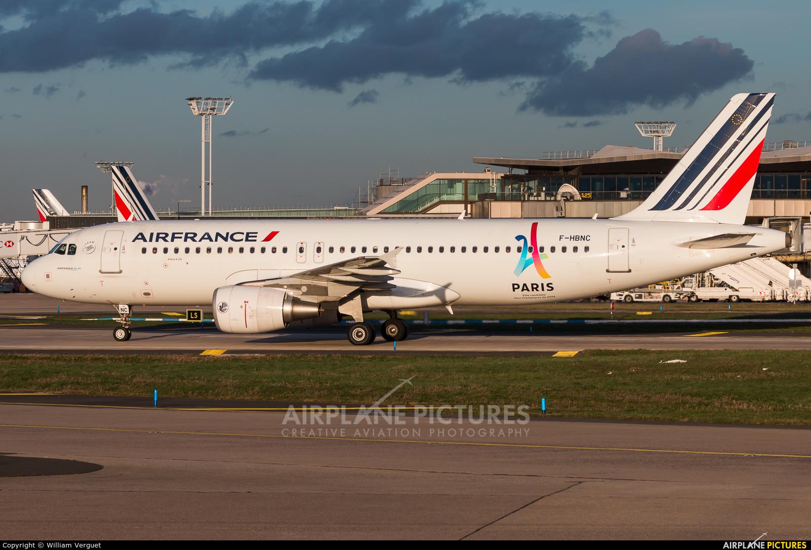 Air France F-HBNC aircraft at Paris - Orly