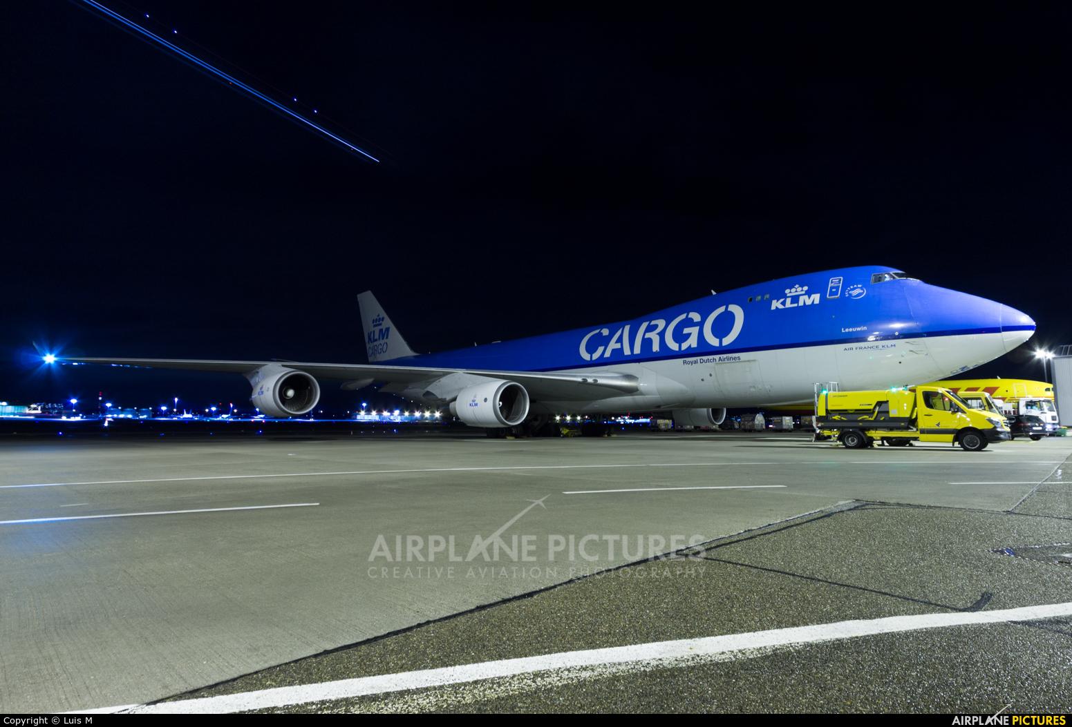 KLM Cargo PH-CKB aircraft at Stuttgart