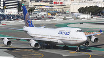 N174UA - United Airlines Boeing 747-400 aircraft