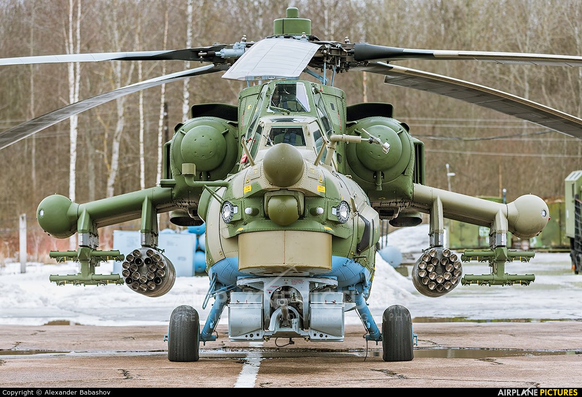 Russia - Air Force Mil Mi-28