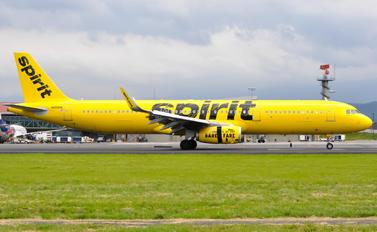 N658NK - Spirit Airlines Airbus A321