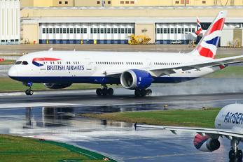 G-ZBKL - British Airways Boeing 787-9 Dreamliner