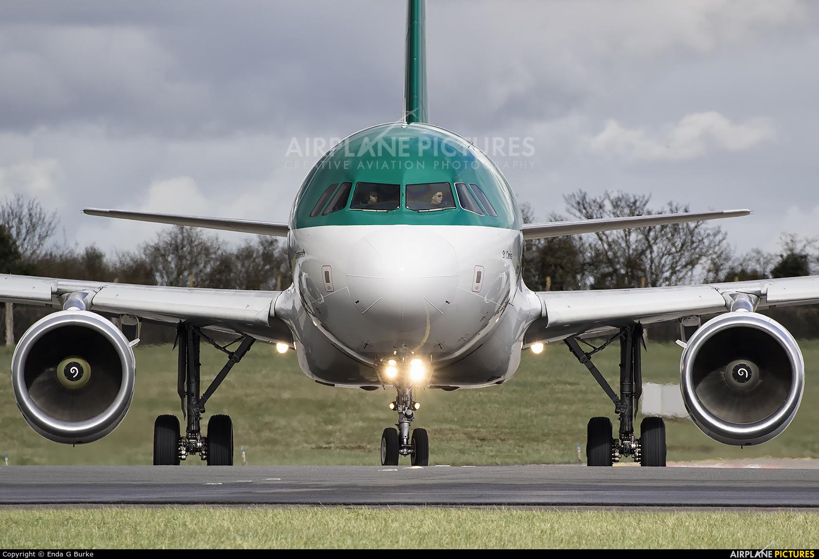 Aer Lingus EI-DEL aircraft at Dublin