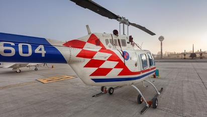 604 - Croatia - Air Force Bell 206B Jetranger III