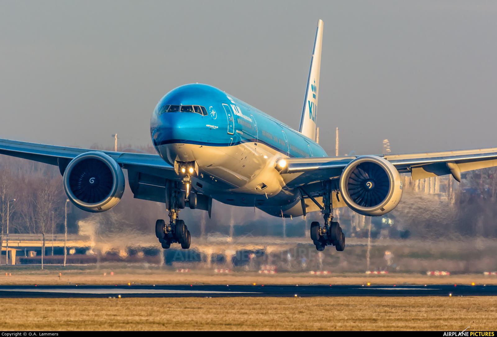 KLM PH-BVN aircraft at Amsterdam - Schiphol
