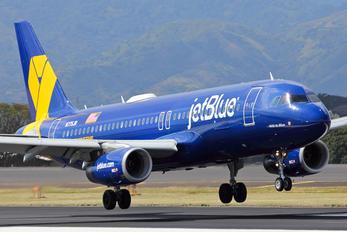 N775JB - JetBlue Airways Airbus A320